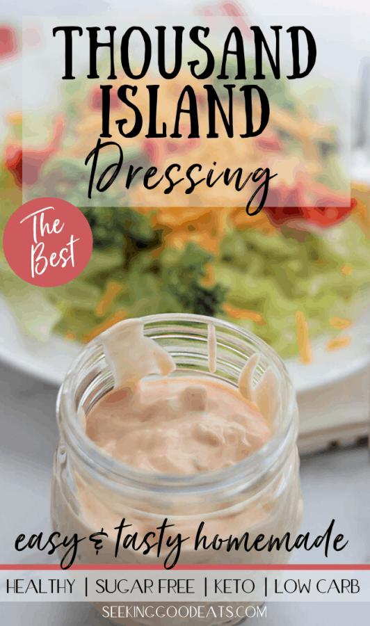 How To Make Thousand Island Dressing (Keto & Low Carb)
