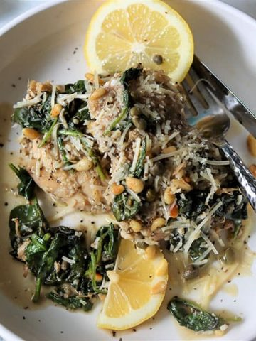 Low Carb and Keto Chicken Piccata