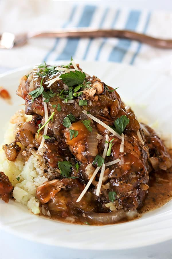 Crockpot Balsamic Chicken