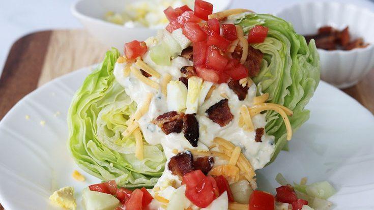 Blue Cheese Wedge Salad Recipe, Seeking Good Eats