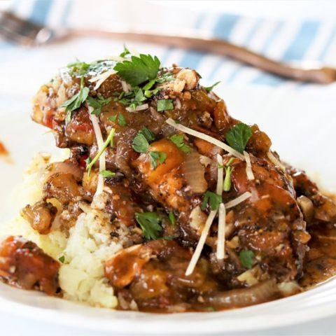 Crockpot Balsamic Chicken
