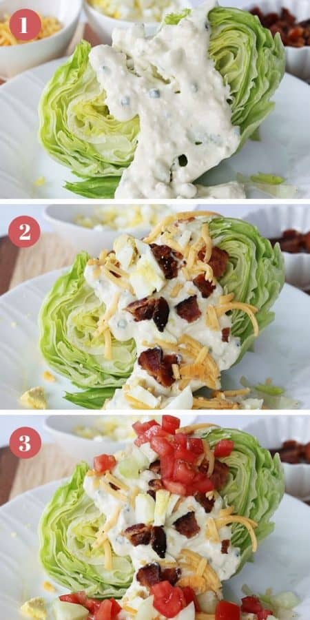 Blue Cheese Wedge Salad Recipe (Keto Salad)