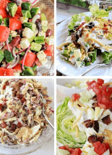 Low Carb and Keto Salad Recipes