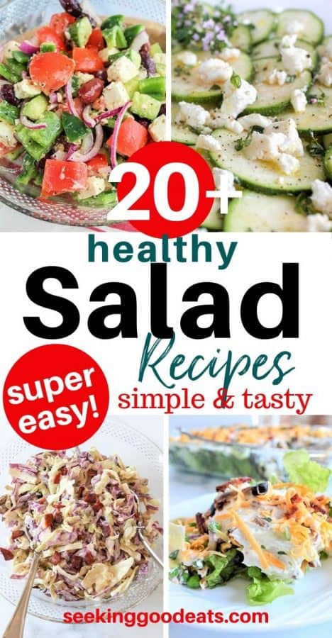 Low Carb and Keto Salad Recipes
