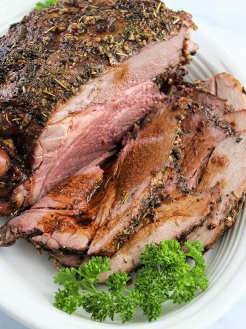 How To Cook a Boneless Leg of Lamb (Best Leg of Lamb!)