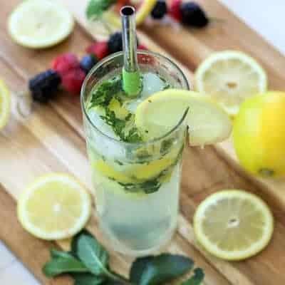 Skinny Lemon Mojito Recipe