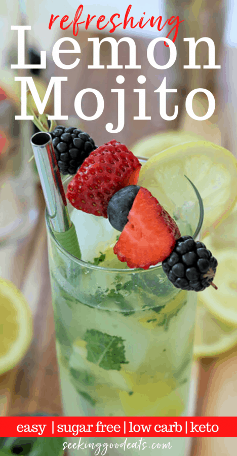 Skinny Lemon Mojito Recipe
