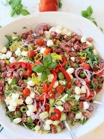 Italian Antipasto Salad Platter, Seeking Good Eats