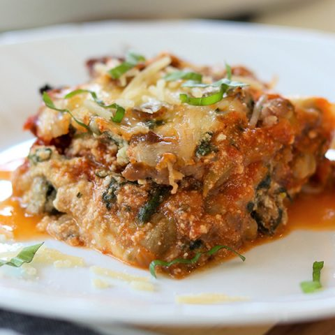 Easy Eggplant Lasagna (Low Carb Keto)