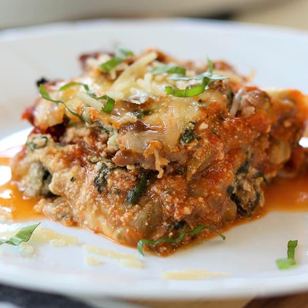 Easy Eggplant Lasagna, Seeking Good Eats