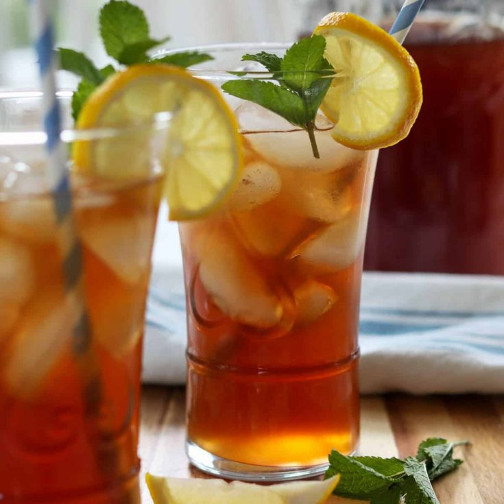 Southern Sweet Tea Sugar Free Keto Sweet Tea Seeking Good Eats