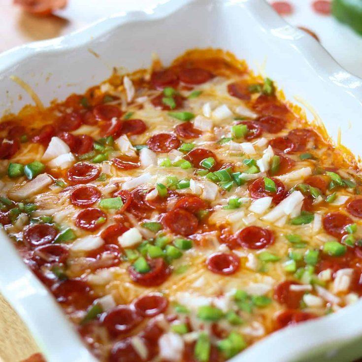 Pepperoni Pizza Dip Recipe, Seeking Good Eats