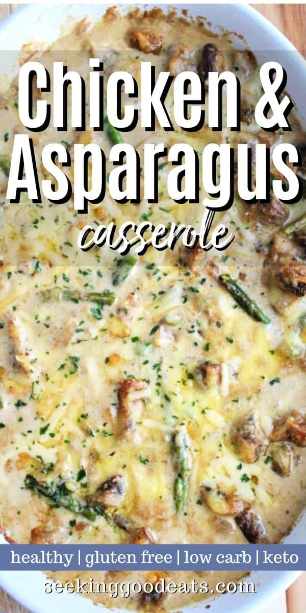 Creamy Chicken and Asparagus Bake, Seeking Good Eats