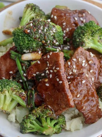 Mongolian Beef and Broccoli, Seeking Good Eats