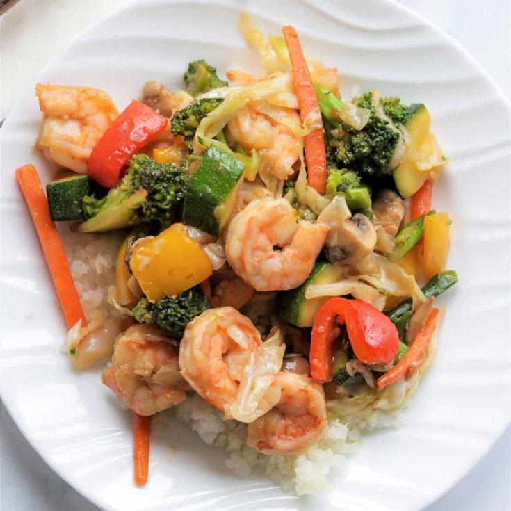 Keto Stir Fry With Shrimp, Seeking Good Eats