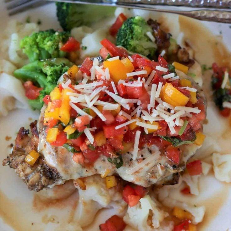 Bruschetta Chicken Recipe, Seeking Good Eats