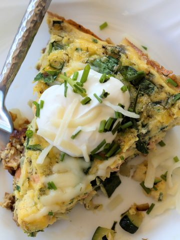 Low Carb Smoked Salmon Frittata, Seeking Good Eats