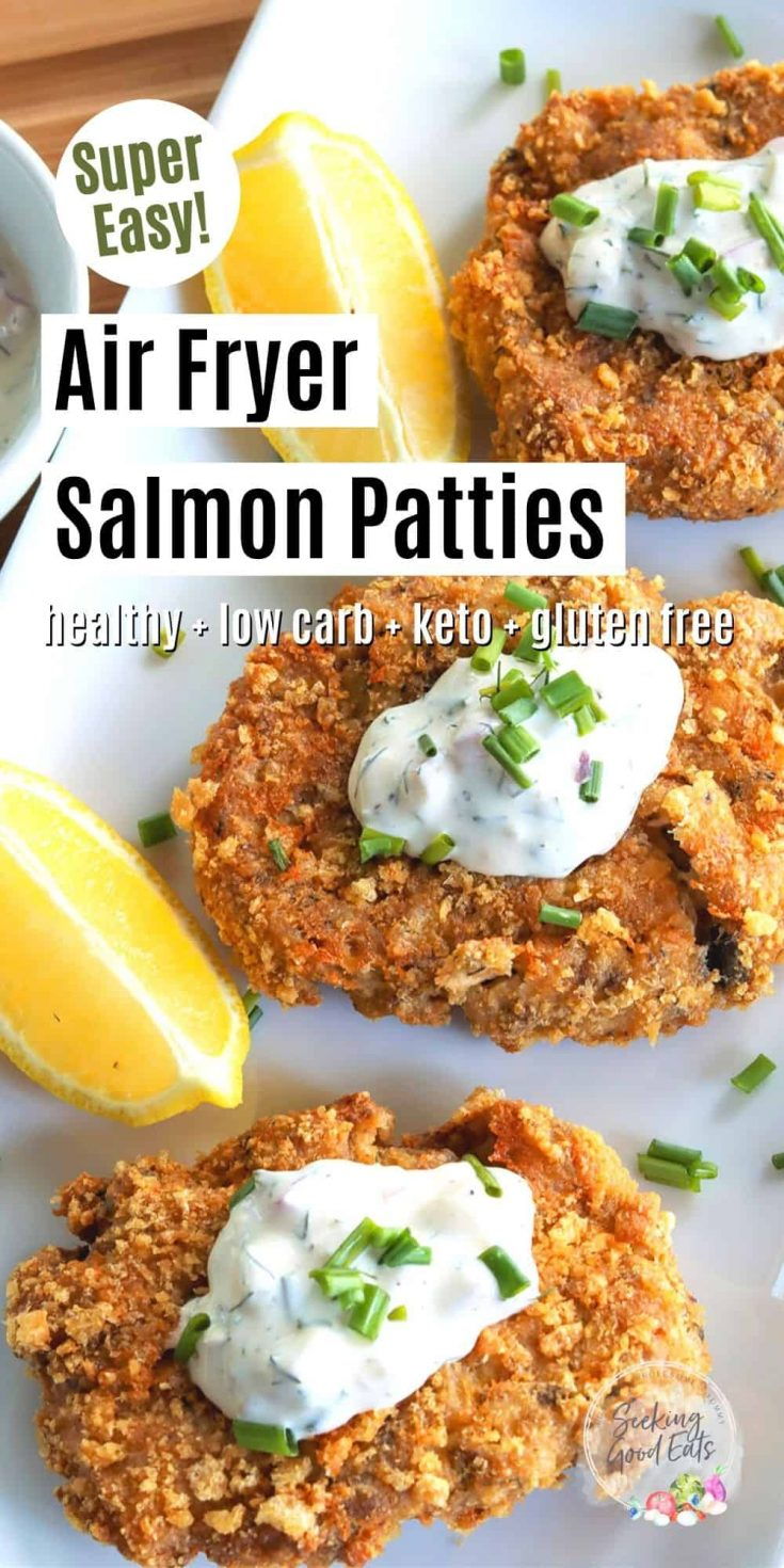 Air Fryer Salmon Patties, Seeking Good Eats