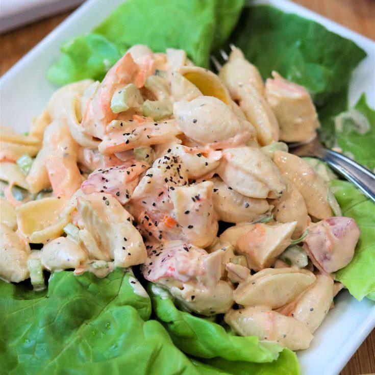 Seafood Pasta Salad, Seeking Good Eats