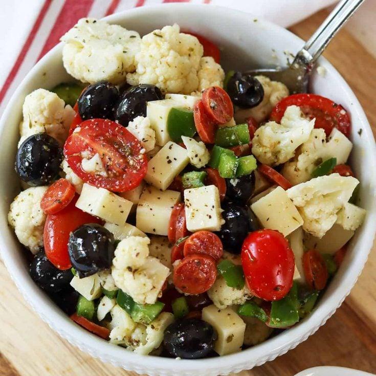 zesty Italian pasta salad, Seeking Good Eats
