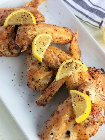 Lemon Pepper Wings Air Fryer, Seeking Good Eats