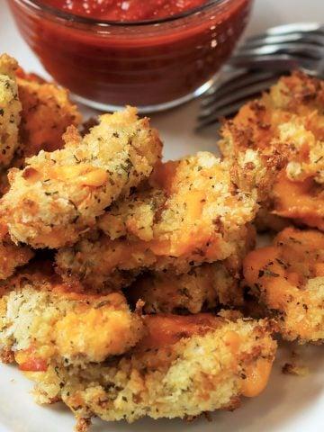 Air Fryer Cheese Curds, Seeking Good Eats