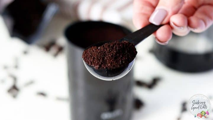 Course ground coffee for making cold brew coffee