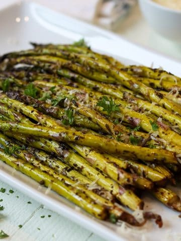 asparagus in air fryer, Seeking Good Eats