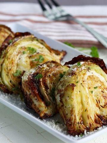 Air Fryer Cabbage, Seeking Good Eats