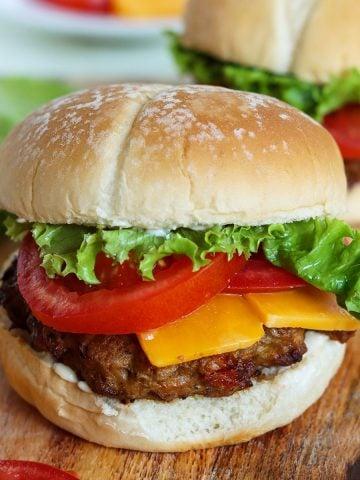 Air Fryer Turkey Burgers, Seeking Good Eats
